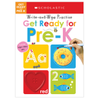 Get Ready for Pre-K Write and Wipe Practice: Scholastic Early Learners (Write and Wipe) Cover Image