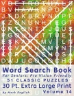 Word Search Book For Seniors: Pro Vision Friendly, 51 Classic Puzzles, 30 Pt. Extra Large Print, Vol. 14 Cover Image