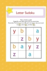 letter suduko: mini sudoko with letters -Brain Games Book for kids - Logic Games For kids Cover Image