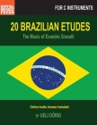 20 BRAZILIAN ETUDES - The Music of Evandro Gracelli: for C-Instruments Cover Image