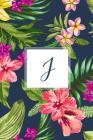 J: Tropical Floral, 150 Pages, 6