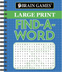 Brain Games - Large Print Find a Word Cover Image
