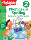 Second Grade Phonics and Spelling (Highlights Learning Fun Workbooks) Cover Image