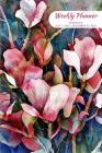 Weekly Planner: Flowers; 18 months; July 1, 2019 - December 31, 2020; 6