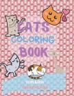 Cats Coloring Book For Kids: A Fun Game for 3-8 Year Old Boys - Picture For Toddlers & Grown Ups - Sport & Exclusive Cats-Childrens Activity Book - Cover Image