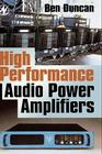 High Performance Audio Power Amplifiers Cover Image