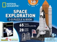National Geographic Space Exploration: 3D Puzzle and Book [With Book(s)] Cover Image
