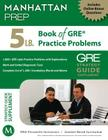 5 lb. Book of GRE Practice Problems Cover Image