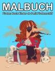 Malbuch Piraten 4 Jahre: Piraten Buch Kinder ab 5 mit Piratenschiff Cover Image