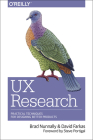 UX Research: Practical Techniques for Designing Better Products Cover Image