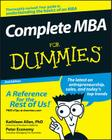 Complete MBA for Dummies Cover Image