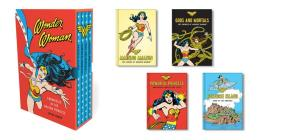 Wonder Woman: Chronicles of the Amazon Princess: (4 hardcover, illustrated books) Cover Image