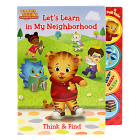 Let's Learn in My Neighborhood (Daniel Tiger's Neighborhood) Cover Image
