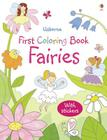Fairies Sticker Coloring Book Cover Image