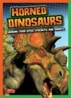 Horned Dinosaurs: Ranking Their Speed, Strength, and Smarts (Dinosaurs by Design) Cover Image