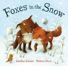 Foxes in the Snow Cover Image