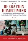Operation Homecoming: Iraq, Afghanistan, and the Home Front, in the Words of U.S. Troops and Their Families Cover Image