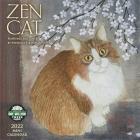 Zen Cat 2022 Mini Wall Calendar Cover Image