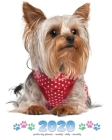 2020 Yorkie Dog Planner - Weekly - Daily - Monthly Cover Image