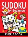 Sudoku for Beginners 4x4: Activity Puzzles From Easy to Hard with Coloring Page Cover Image