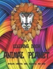 Animal Planet - Coloring Book - Antelope, Hamster, Hare, Alligator, and more Cover Image