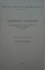 Georgian Tiverton, the Political Memoranda of Beavis Wood 1768-98 (Devon and Cornwall Record Society) Cover Image