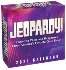 Jeopardy! 2021 Day-to-Day Calendar Cover Image