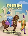 Purim in Pictures and Words: A Holiday Interactive Book Cover Image