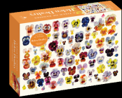 A Field of Pansies 1,000-Piece Puzzle (Artisan Puzzle) Cover Image