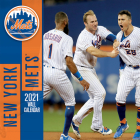 New York Mets 2021 12x12 Team Wall Calendar Cover Image