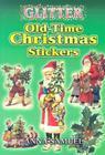 Glitter Old-Time Christmas Stickers Cover Image