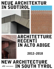 New Architecture in South Tyrol  2012–2018 Cover Image