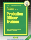 Probation Officer Trainee: Passbooks Study Guide (Career Examination Series) Cover Image
