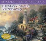 Thomas Kinkade Special Collector's Edition 2020 Deluxe Wall Calendar: New Beginnings Cover Image