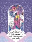 Cosmic Slumber Tarot Coloring Book Cover Image