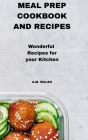 Meal Prep Cookbook and Recipes Cover Image