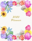 2020 Planner: Daily Weekly and Monthly Planner - January 2020 to December 2020 - Organizer & Diary - To do list - Notes - Month's Fo Cover Image
