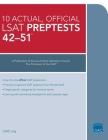 10 Actual 42-51, Official LSAT Preptests: (preptests 42-51) Cover Image