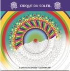 Cirque Du Soleil Adult Coloring Book Cover Image