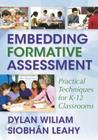 Embedding Formative Assessment: Practical Techniques for K-12 Classrooms Cover Image