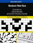 Boston Red Sox Sudoku and Crossword Activity Puzzle Book: Greatest Players Edition Cover Image