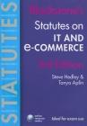 Blackstone's Statutes on It and E-Commerce Cover Image