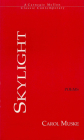 A Skylight: The Mother's Poems (Carnegie Mellon Classic Contemporary Series: Poetry) Cover Image