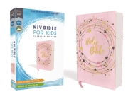 Niv, Bible for Kids, Flexcover, Pink/Gold, Red Letter, Comfort Print: Thinline Edition Cover Image