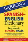 Barron's Spanish-English Dictionary: Diccionario Espanol-Ingles Cover Image
