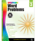 Spectrum Word Problems, Grade 3 Cover Image