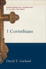 1 Corinthians (Baker Exegetical Commentary on the New Testament #1) Cover Image