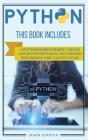 Python: This Book Includes: Learn Python Programming for Beginners, Python Crash Course and Python for Data Analysis. Create Y Cover Image
