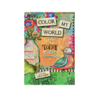 Color My World 2021 Monthly Pocket Planner Cover Image