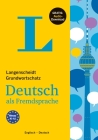 Langenscheidt Grundwortschatz Deutsch - Basic Vocabulary German (with English Translations and Explanations) Cover Image